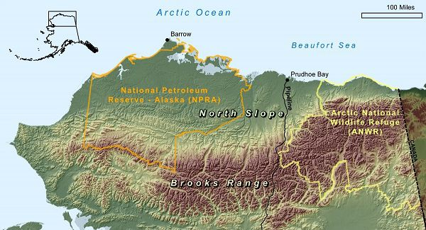 Energy Resources North Slope And Brooks Range Foothills Alaska